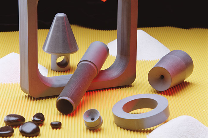 Break rings for horizontal continuous casting | Saint-Gobain Boron Nitride